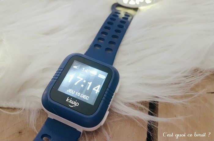 Kiwip Watch, montre connectée pour enfant qui fait téléphone