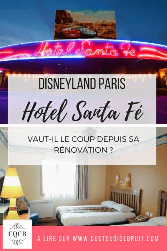 Dormir à Disneyland Paris : l'hôtel Santa Fe. A retrouver sur http://cestquoicebruit.com/voyage/disney-hotel-santa-fe-avis-famille/
