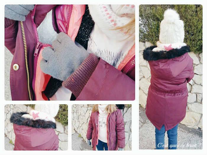 Un manteau bien chaud pour l'hiver à moins de 50 €