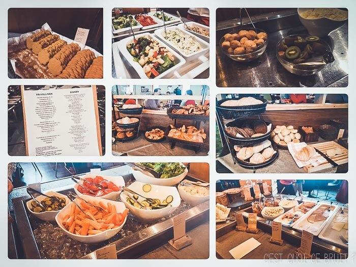 Club Jet Tours Yllas en Laponie Finlandaise : les repas