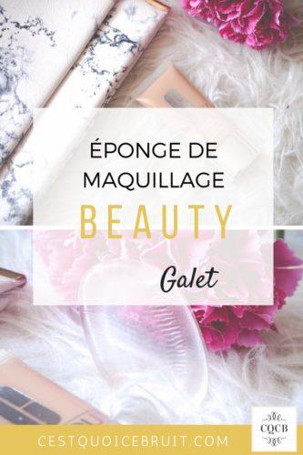Eponge en silicone Beauty galet pour le maquillage #beauté #beauty #astuce #maquillage