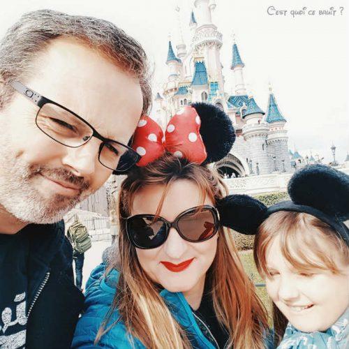 malade à Disney