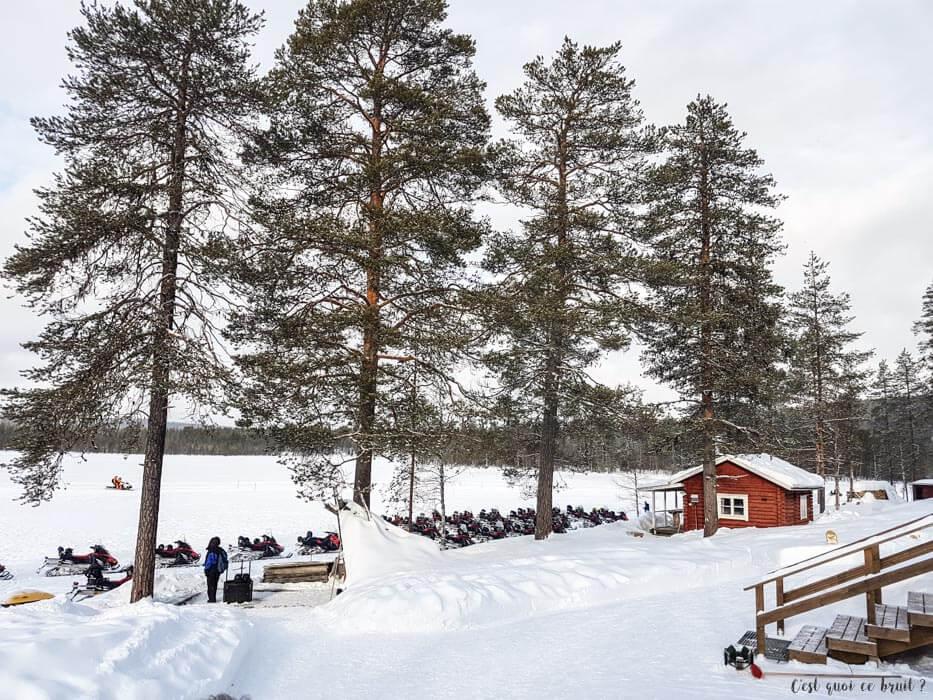 Laponie Finlandaise : paysages enneigés de Ronolä