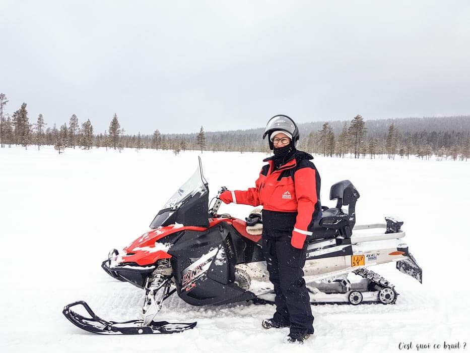 Girlstrip en Laponie finlandaise : la motoneige
