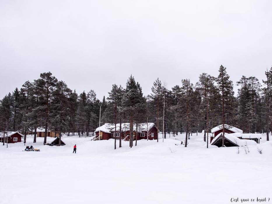Laponie Finlandaise : pêche blanche à Ronolä