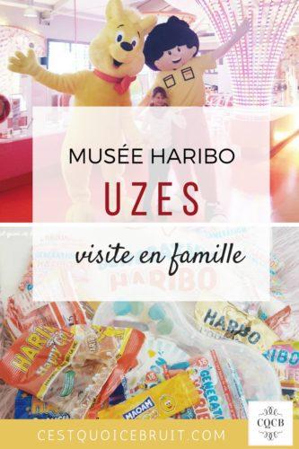 Visite du musée Haribo à Uzès en famille #uzes #haribo #famille #sortie