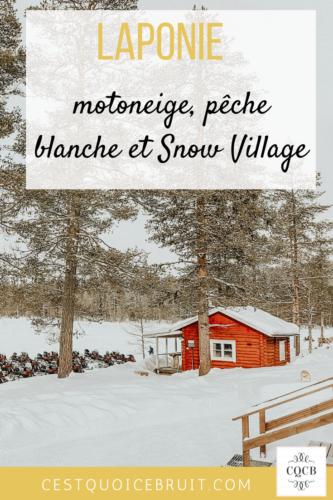 Voyage en Laponie Finlandaise : activités #blogtrip #laponie #finlande #voyage #travel