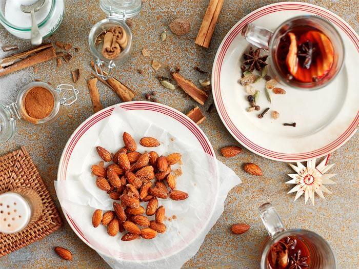 4 recettes à base d'amandes de Californie : amandes enrobées