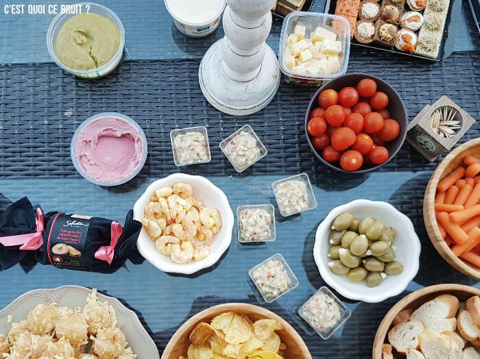 Réussir son cocktail dînatoire avec Carrefour Traiteur #concours