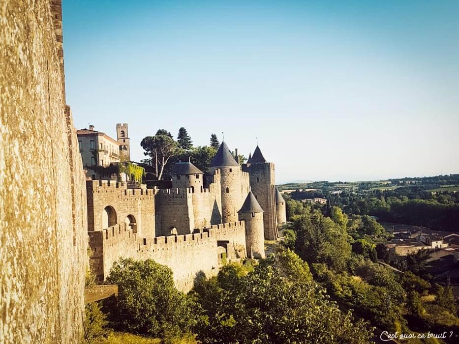 Visite des remparts de Carcassonne