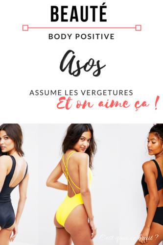 Body positive : Asos ne retouche plus les vergetures de ses mannequins #bodypositive
