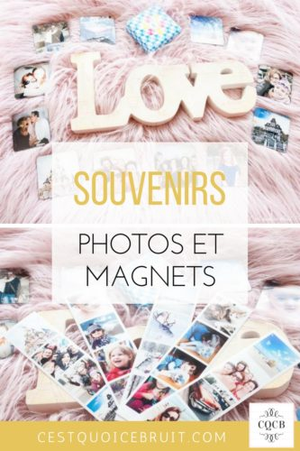 Photos et magnets pour imprimer ses photos de façon originale #photo #magnets #souvenirs
