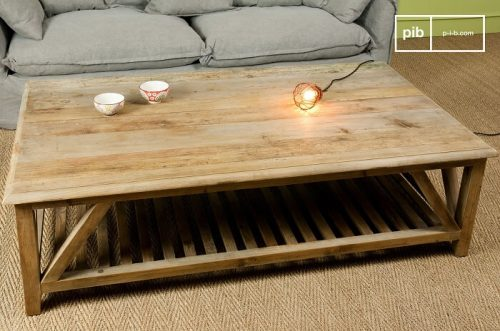 Table basse en bois