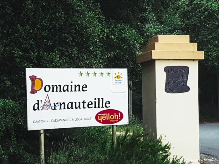 En famille au Yelloh Village de Carcassone au Domaine d'Arnauteille