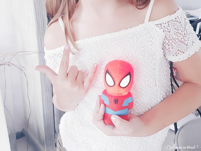 Test de la veilleuse Softpal Spiderman