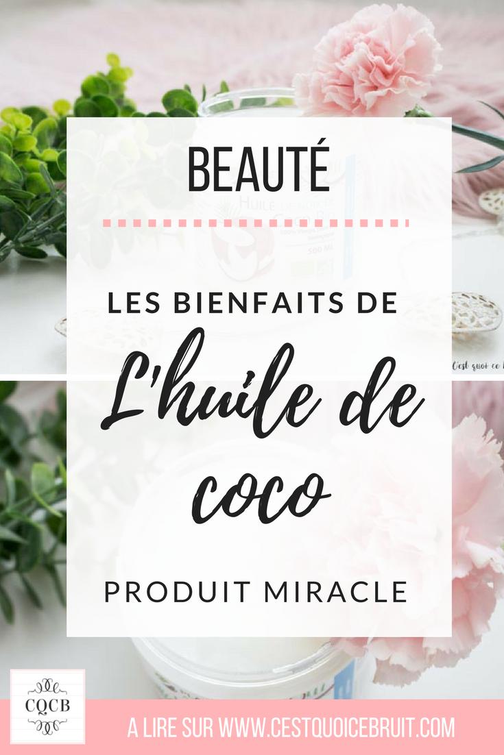 Beauté : les bienfaits de l'huile de coco pour des recettes naturelles #beauté #nature #healthy #recettes #beauténaturelle