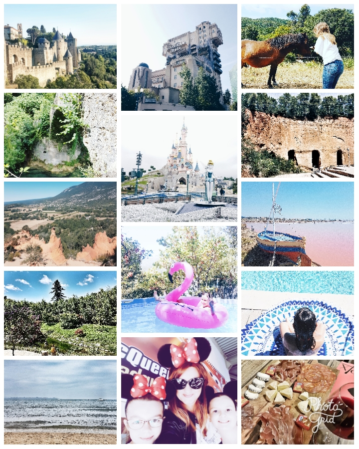 L'été des blogueuses : mes vacances