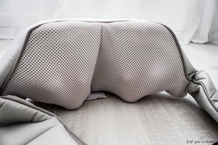 Test du Masseur Shiatsu Homedics pour soulager le mal de dos