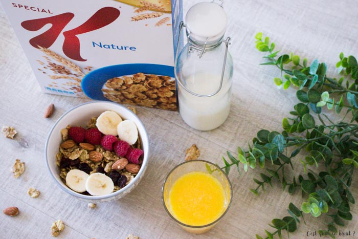 Recette de petit déjeuner heakthy