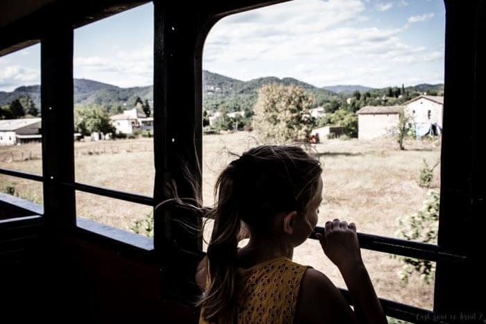 En vacances dans l'Hérault, nous avons pris le Train des Cévennes à Anduze pour une chouette balade en famille