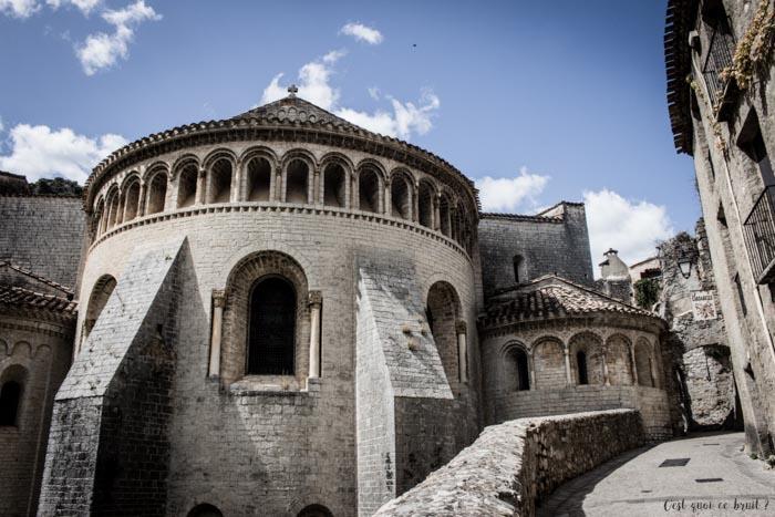 Une journée en famille dans les Gorges de l'Hérault à Saint-Guilhem-le-Désert : abbaye de Gellone