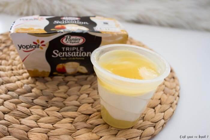 Fruits et yaourt au dessert avec les nouvelles recettes Yoplait