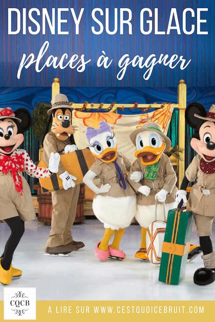 Des places Disney sur Glace à gagner #blog #blogfamille #disney
