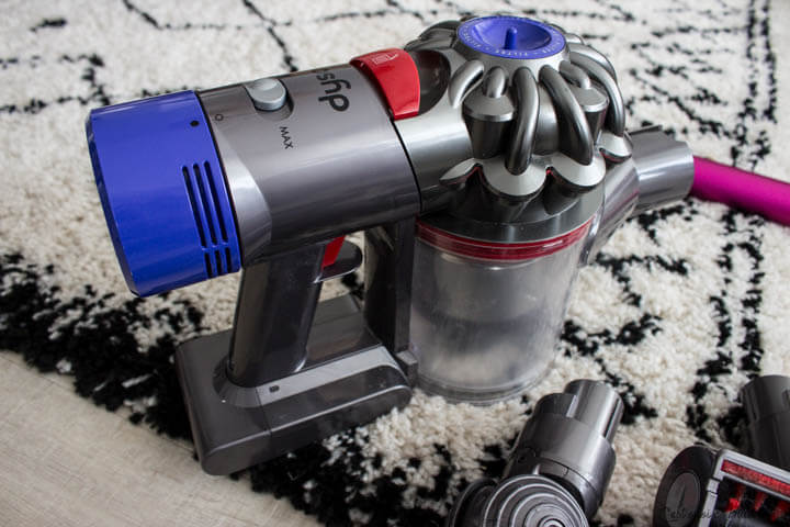 Test de l'aspirateur V7 Animal Pro Dyson