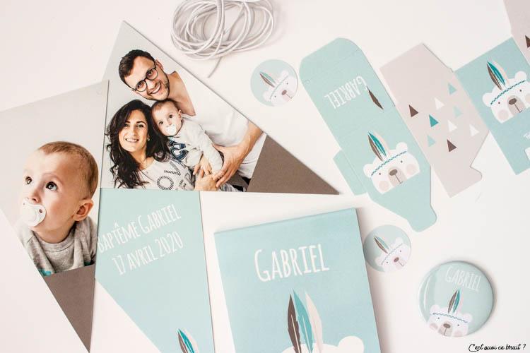 Famille : choisir son faire-part de bapteme