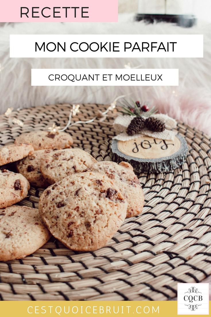 Recette facile pour réussir le cookie parfait #cookie #recette #recipe #foodblogger #gouter