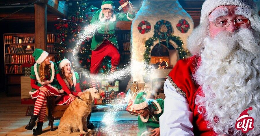 Une vidéo personnalisée avec le Père Noël #concours