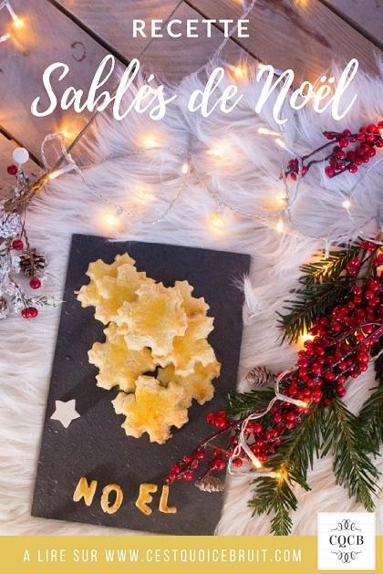Recette facile de sablés de Noël