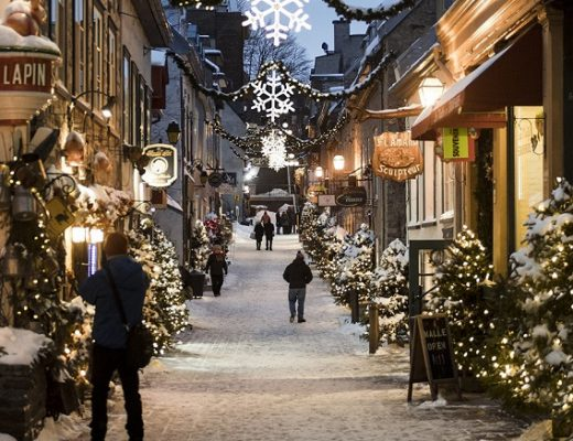 Noël au Québec, Le petit champlain