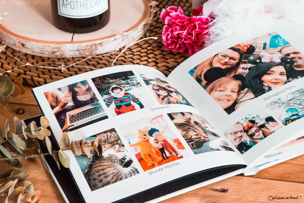 Mes souvenirs en livre photos avec photoweb