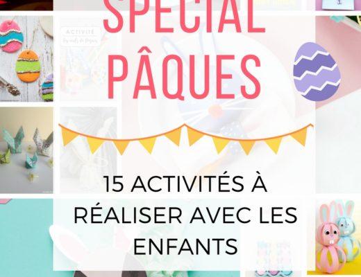 15 activités de Pâques à faire avec les enfants #paques #DIY #famille #activites