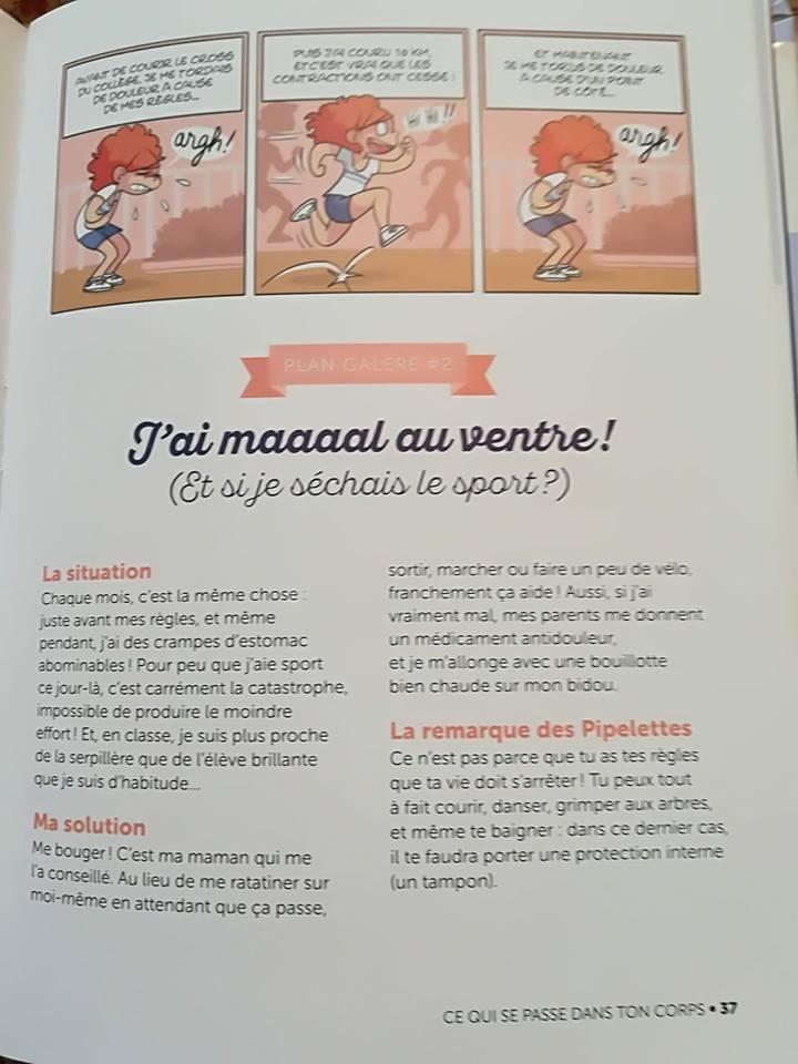 Polémique Milan Les pipelettes : la puberté et les règles
