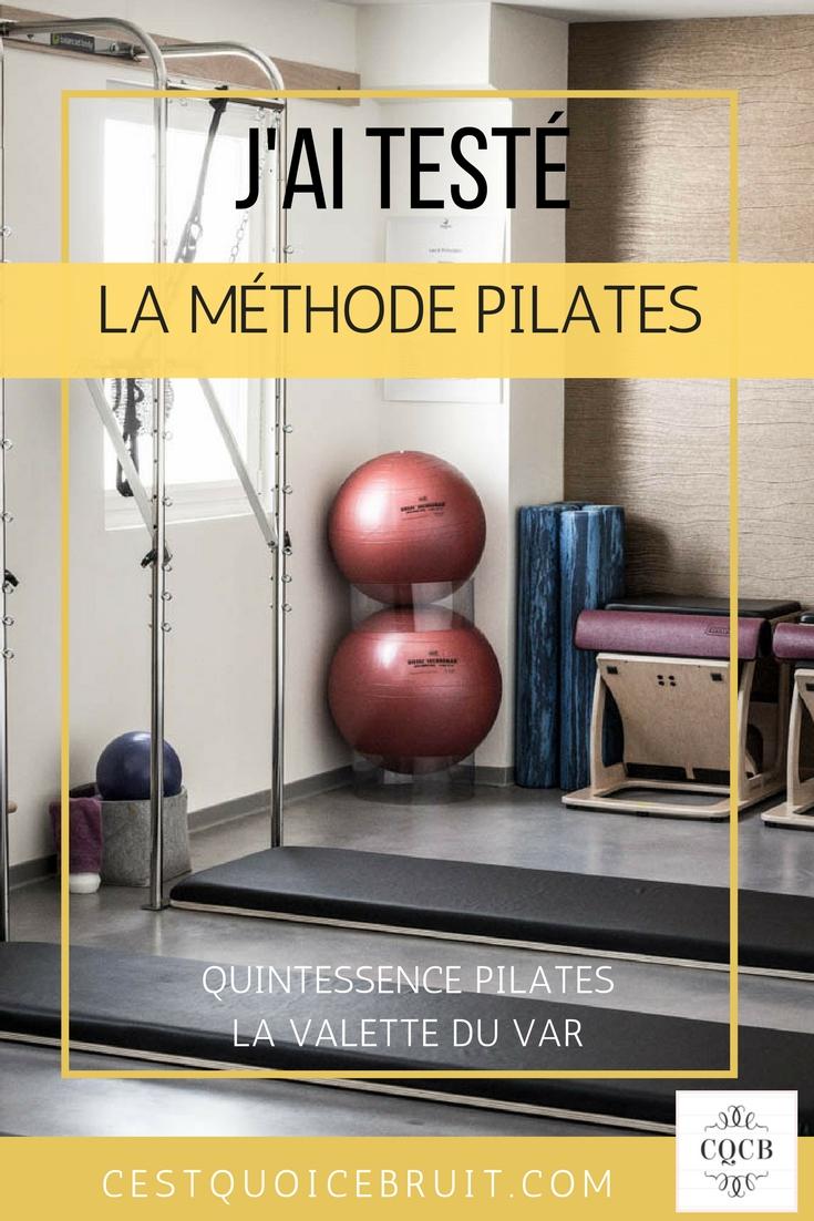 Mon avis sur la méthode Pilates, j'ai testé le centre Quintessence Pilates à La Valette du Var #pilates #feelgood #bienetre #sport #méthodepilates #var #toulon