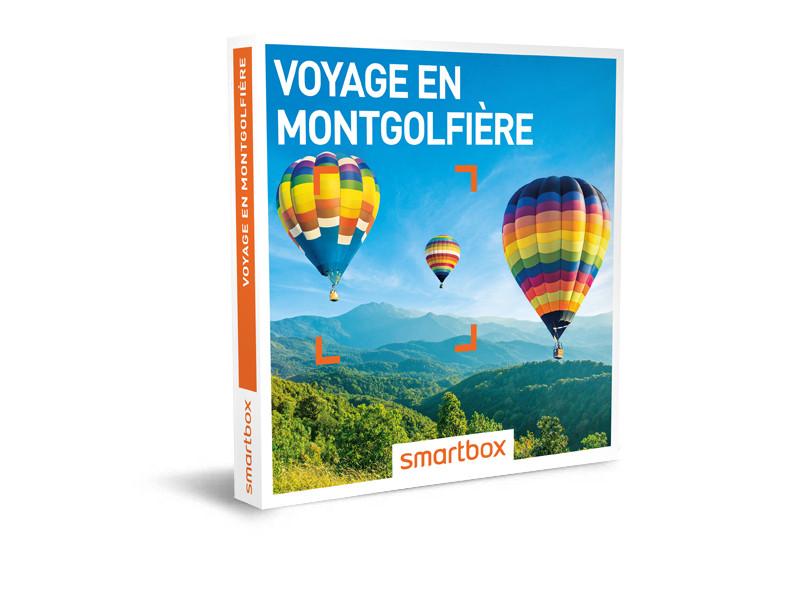 Montgolfière coffret smartbox