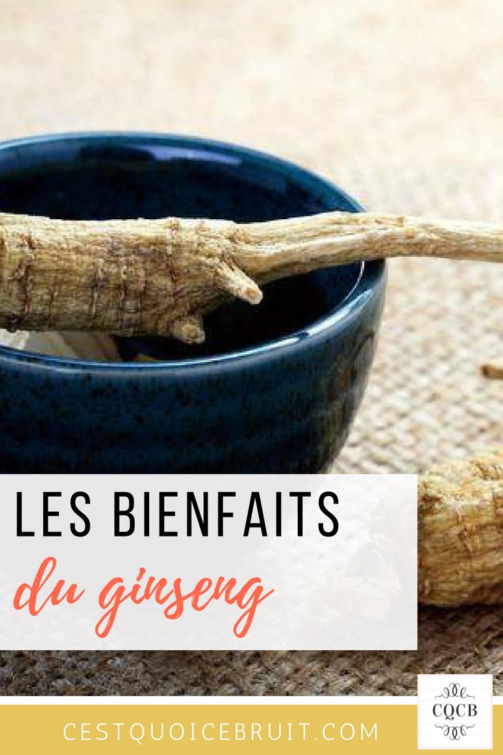 Les bienfaits du ginseng #ginseng #nature #healthy