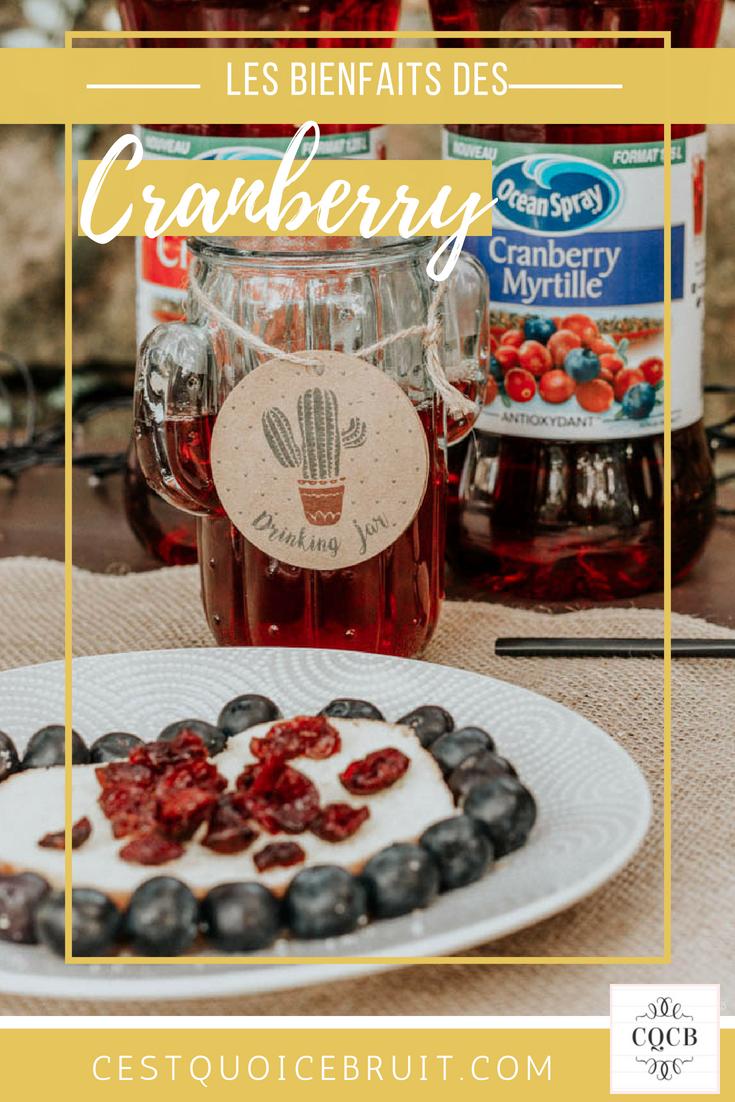 Les vertus de la cranberry #fruit #cranberry #healthy #superfruit #food