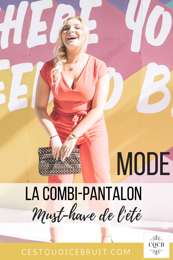 La combipantalon, must have mode de l'été ! #combipantalon #mode #fashion #tendance #style #curvy #ronde