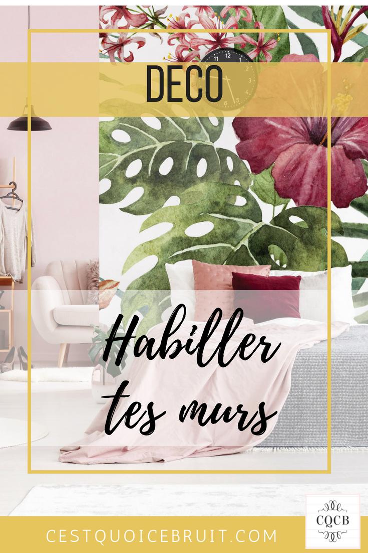 Décoration et tendance : habiller les murs avec style #décoration #home #deco #homedecor