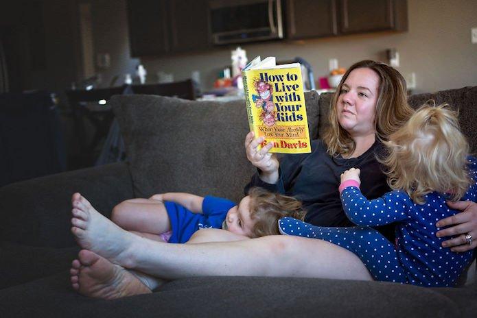 La vraie vie des mamans, photos de Giedre Gomes