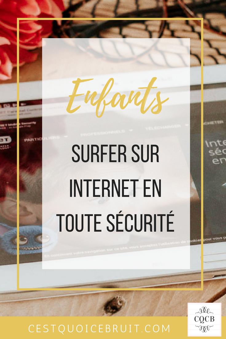 Enfants, surfer sur internet en sécurité avec le contrôle parental #enfants #kids #sécurité #internet #contrôleparental