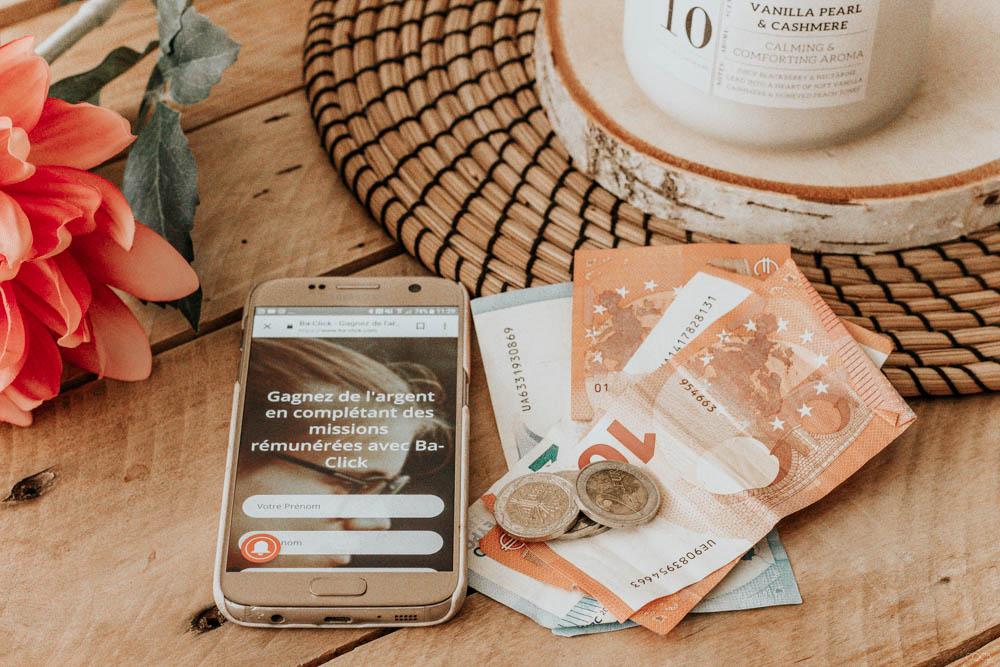 Gagner de l'argent sur internet avec Baclick