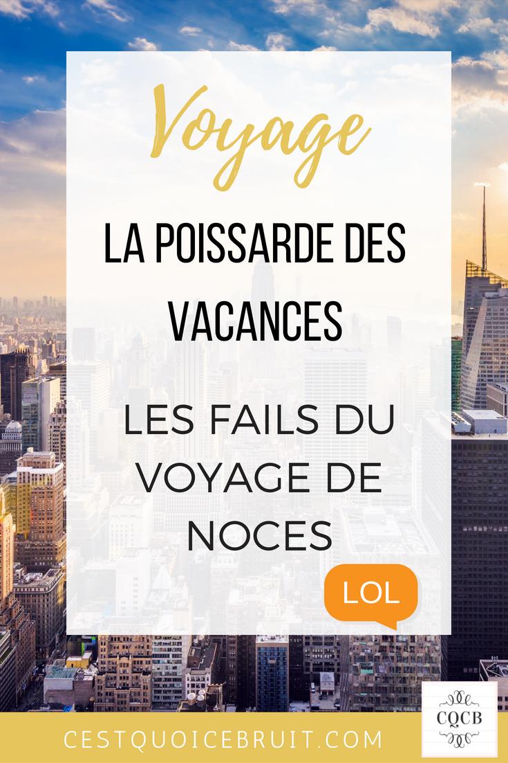 Les ratés des vacances : le voyage de noces #humour #vacances #fail #voyage