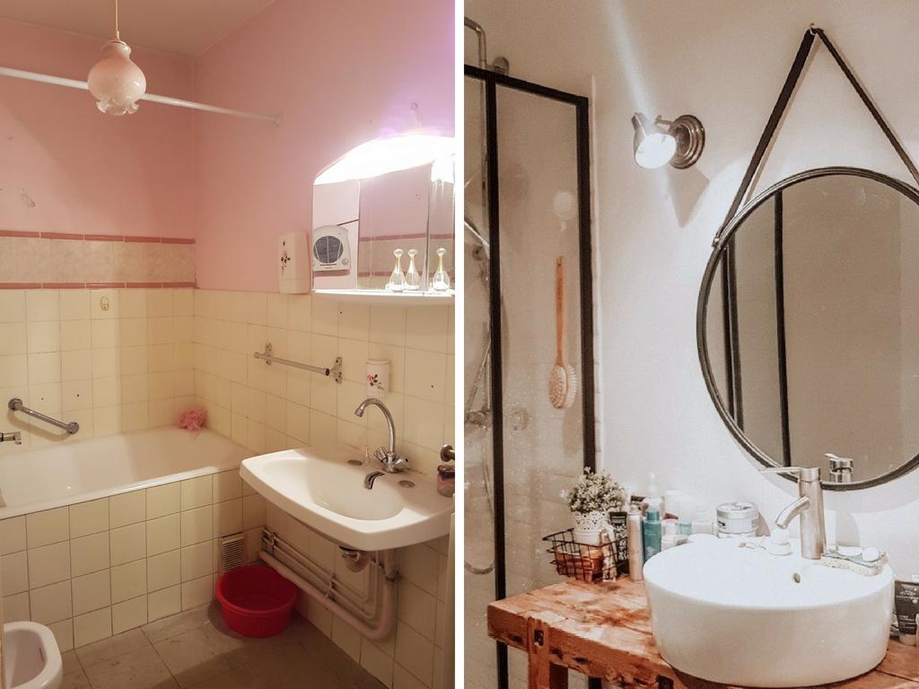 Salle De Bain Renovation Avant Apres ~ l avant apr s de r novation de la salle de bain op rationcheznous