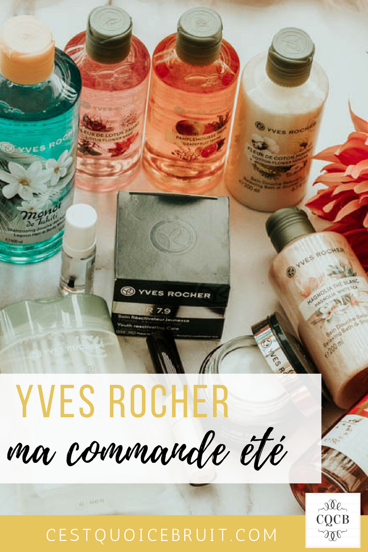 Avis Yves Rocher #beauté #beauty #yvesrocher