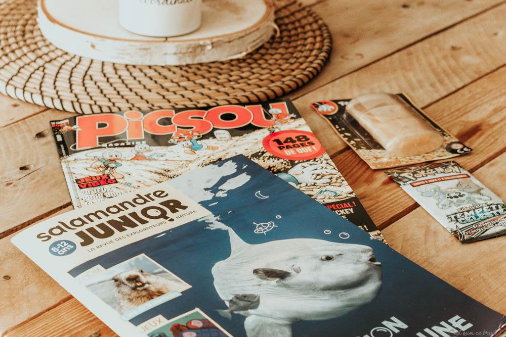 Parents, choisir un magazine jeunesse pour son enfant : ma fille lit Picsou Magazine et Salamandre junior