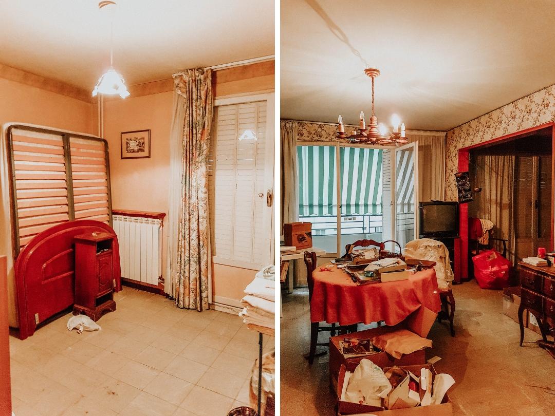 Relooker un intérieur vintage : avant après la pose du sol